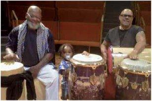 Fred Johnson and Gumbi Ortiz