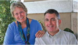 Brother and sister Kristin Brett and Jeff Johnson share a love of giving back to the community.