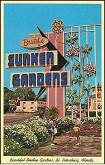 Vintage Sunken Gardens