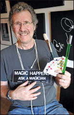 Fellow ONE magician & friend Frank Lewis