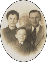 wo generations of the Watters family. Nome Stevens Watters, Bruce Walter Watters, and Bruce Weaver Watters.