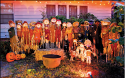 Halloween spirit and enthusiasm shine brightly in the Old Northeast.