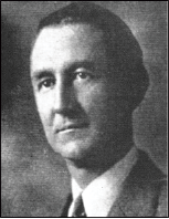 Aymer Vinoy Laughner (1883-1961) built the Vinoy Park Hotel.   Laughner was from Pennsylvania where he made his fortune in the oil business.  He served on the St. Petersburg City Commission from 1930 to 1934.  Courtesy of the Renaissance Vinoy Resort