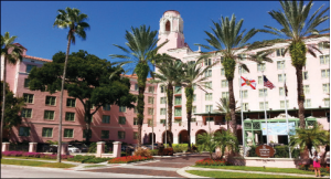 The Vinoy Renaissance St. Petersburg Resort and Golf Club will celebrate its 90th birthday in 2015