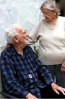 Richard Montague and his late wife Maude, together for 74 years