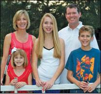Lynn, Minor (15), Bruce, Mae (8) and Mitchell (12) Denson