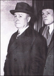 Mobster Johnny Torrio (left) – together with Al Capone and others – invested extensively in St. Petersburg real estate.