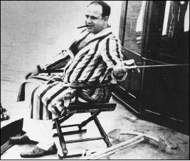 Al Capone fishing in Florida