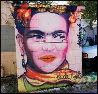 Frida Kahlo by Jannifer Kosharek