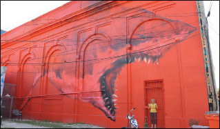 Mural by Shark Toof