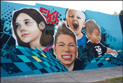 Mural by the Vitale Brothers