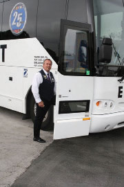 Welcome aboard the St. Petersburg Park Once Weekend Shuttle