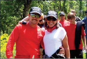 Mike Vaughn and Sara Moola