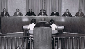 Newly elected Mayor Don Jones and City Council, image 1967.  Courtesy of Don Jones.
