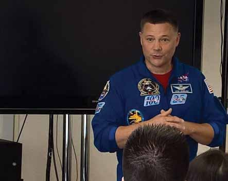 Astronaut Doug Wheelock