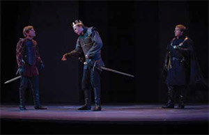 Virginia Shakespeare Festival's Richard III in 2013