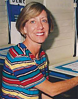 Martha in 1996 as she ran for State Legislature
