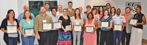 A graduation class of CONA leadership