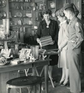 Earl Gresh Wood Parade Museum gift shop, circa 1942
