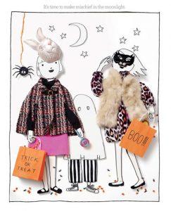 Alli's artwork for Bergdorf Goodman